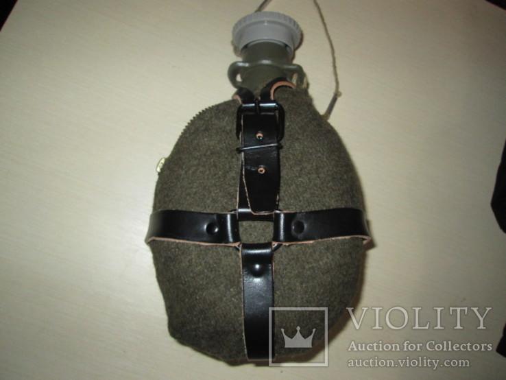 Чешская фляга с войлочнім чехлом, фото №2