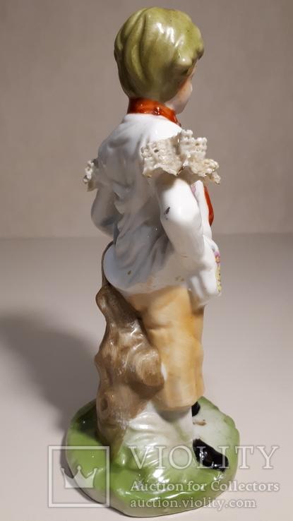 Фарфоровая статуэтка Мальчик., фото №4