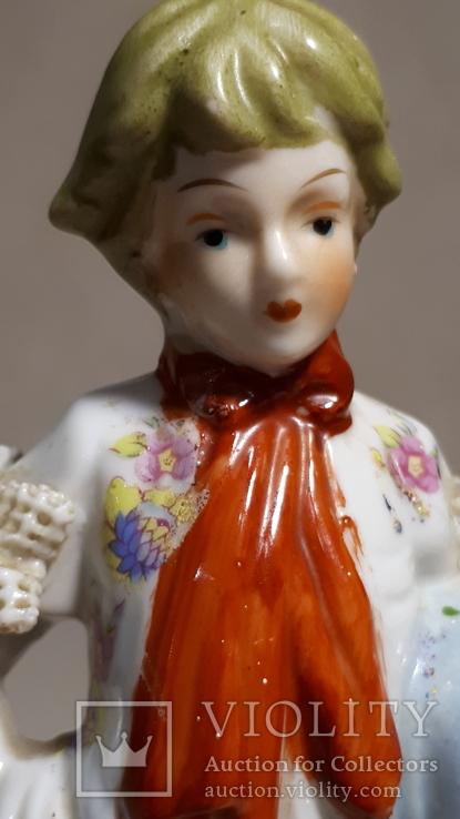 Фарфоровая статуэтка Мальчик., фото №9