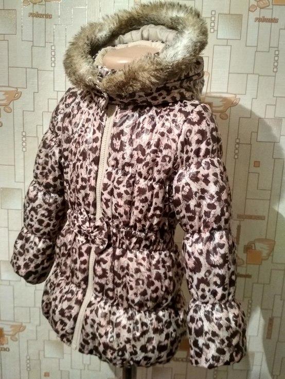 Куртка теплая H&M на рост 110(3-4 года), фото №3