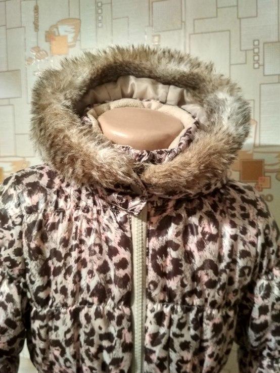 Куртка теплая H&M на рост 110(3-4 года), фото №4