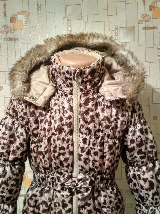 Куртка теплая H&M на рост 110(3-4 года), фото №5