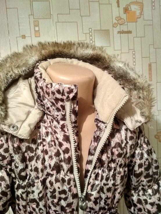 Куртка теплая H&M на рост 110(3-4 года), фото №6