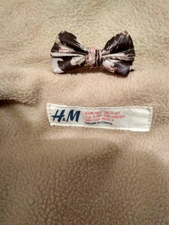 Куртка теплая H&M на рост 110(3-4 года), фото №12