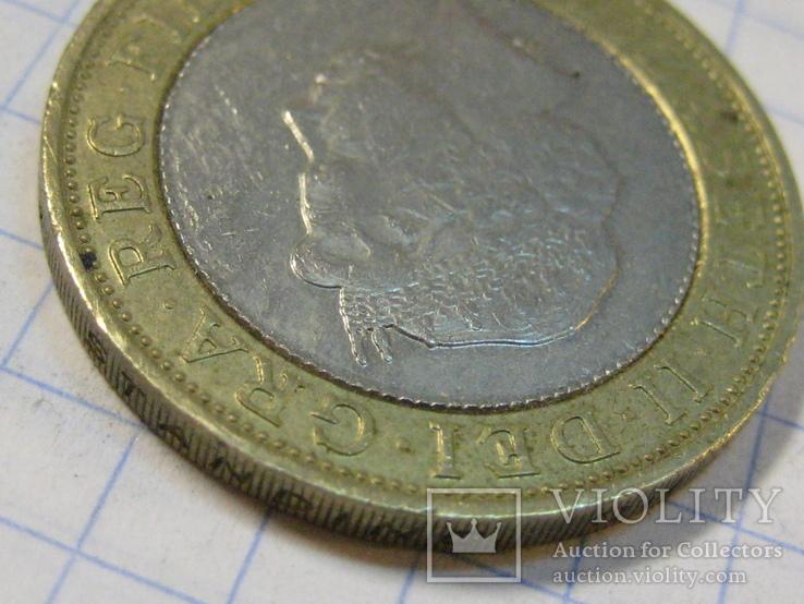 Великобритания 2 фунта, 2000, фото №7