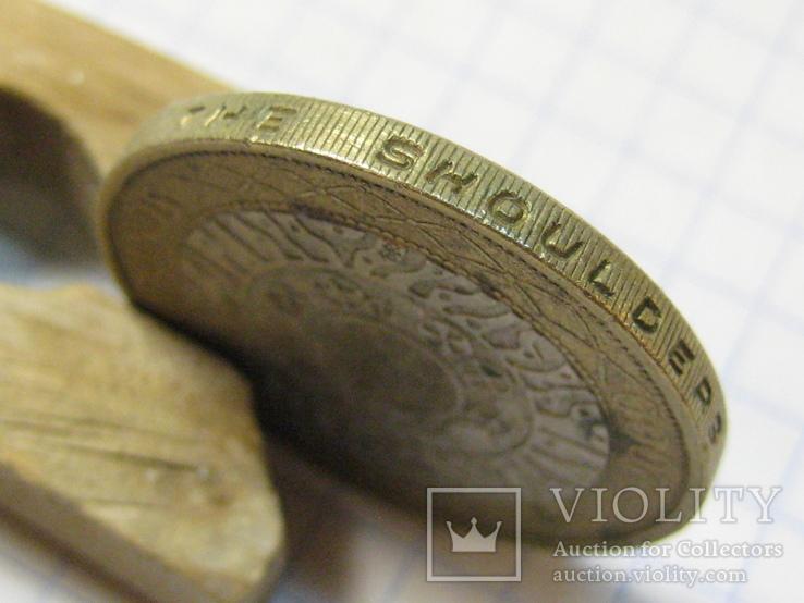 Великобритания 2 фунта, 2000, фото №8