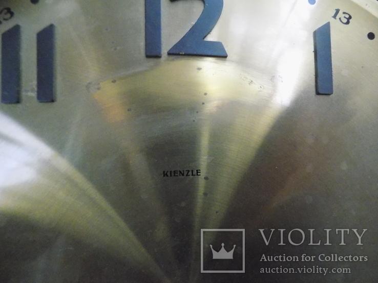 Латунний циферблат Kienzle підлогового Ø 29,5см, фото №5