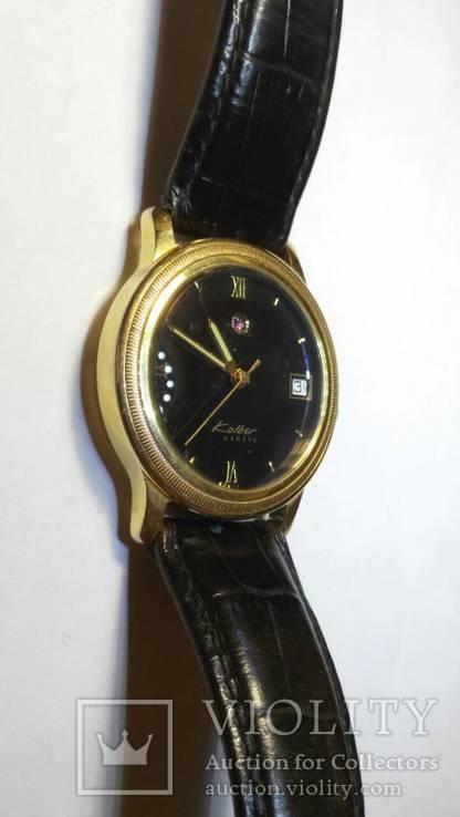 Часы щвейцарские Kolber позолота