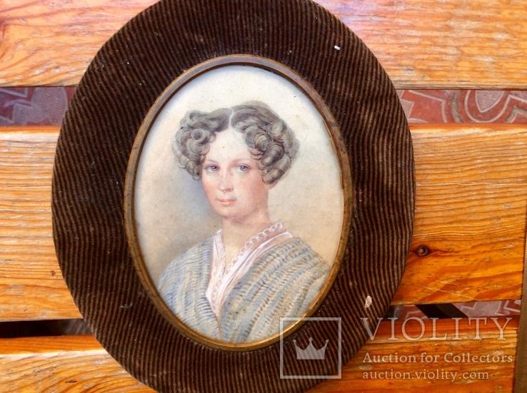Портрет-миниатюра 19 век