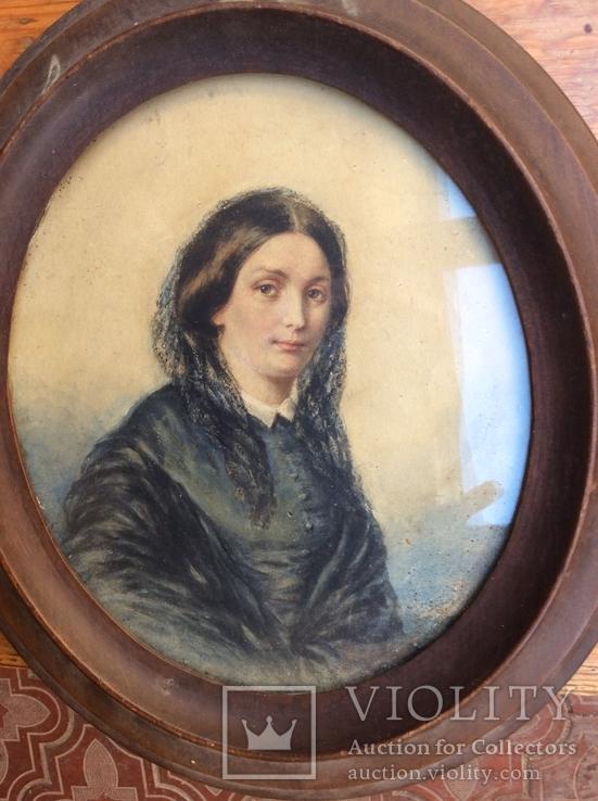 Портрет-миниатюра 19 века