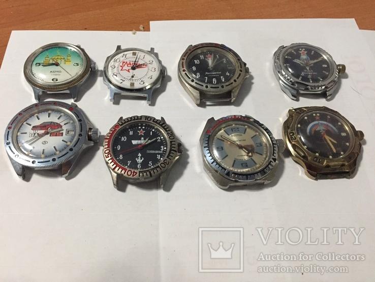 Небольшая колекцыя Командирских ВДВ ВАЗ-25 Восток Амфыбия антимагнитные