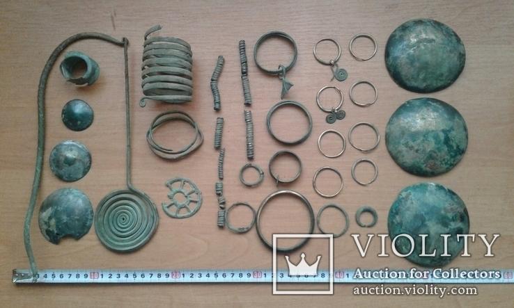 Колекція прикрас 6-4 ст. до н.е.