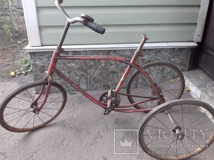 Дитячий велосипед 50-60х років