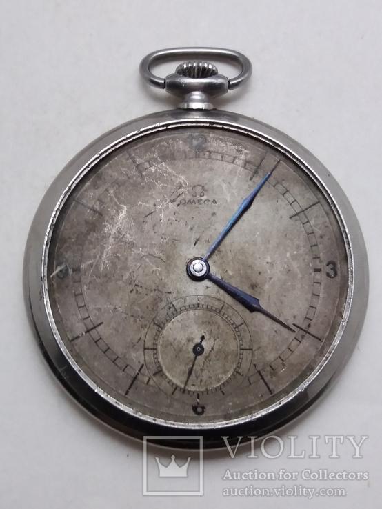 Карманные часы Омега . Omega. Swiss