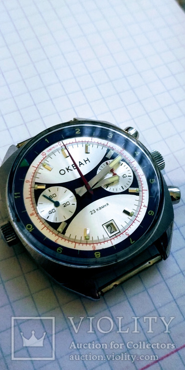 Часы Океан хронограф