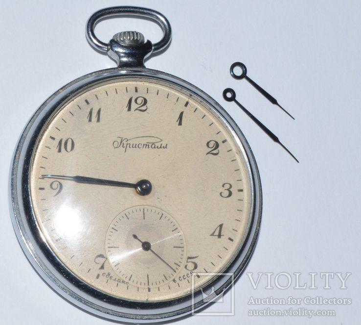 Часы Кристалл