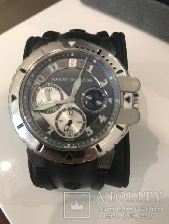 Часы Harry Winston-Project Z2, хронограф, белое золото 18к