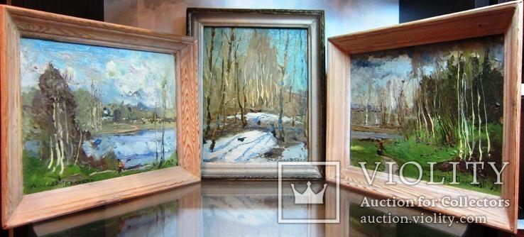 Три работы заслуженного художника Украины.Алексея Полякова.