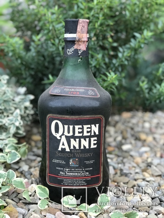 Whisky Queen Anne 2L 1980s