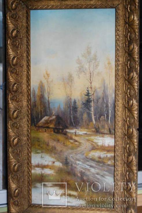Пара старинных картин