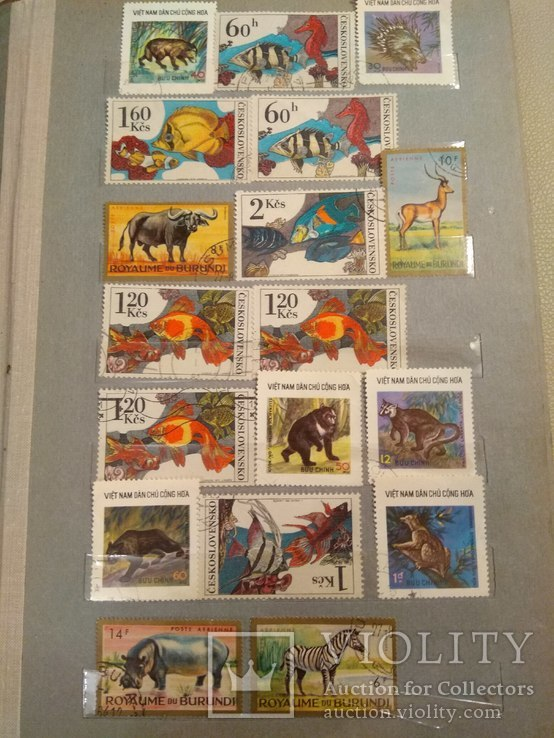 Почтовые марки стран мира, 20 страниц