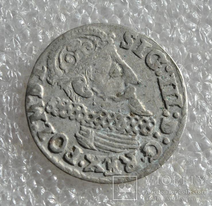 Трояк 1623г.