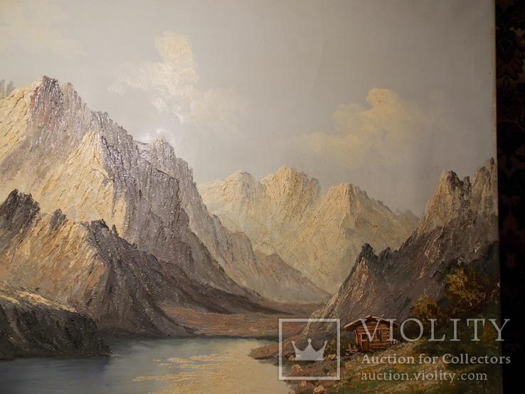 Гірський пейзаж автор Berger повторно в связи с не выкупом
