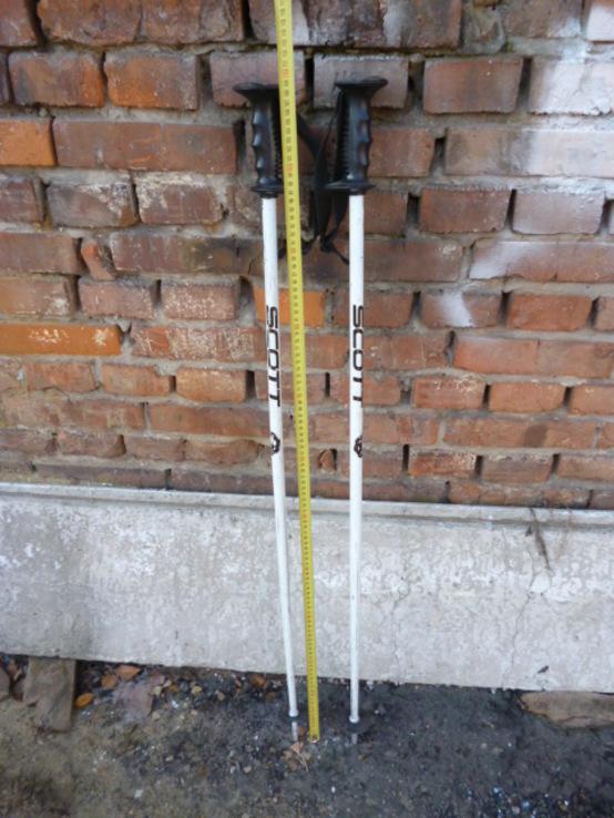 Лижні Палки SCOTT 110 cm з Німеччини