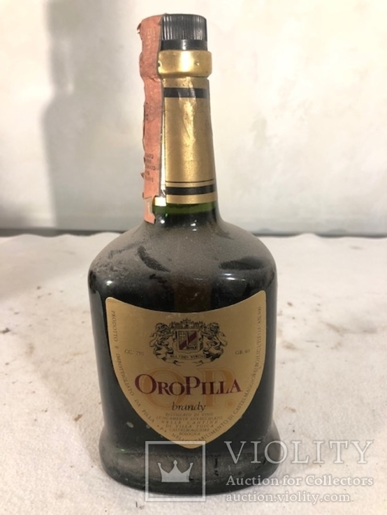 Бренди Oro Pilla 1970-е 1.0 л