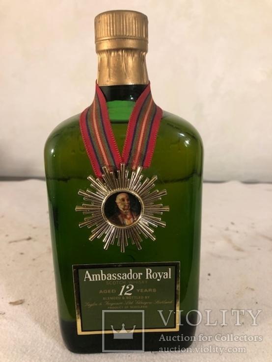 Виски Амбассадор 12 лет, 1970-е , 0.75 л. 43 градуса