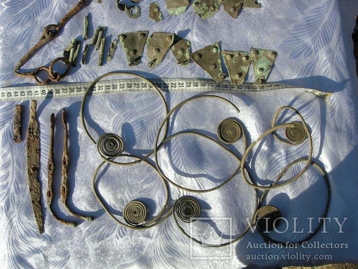 Коллекция предметов 7-5 века до н.э.