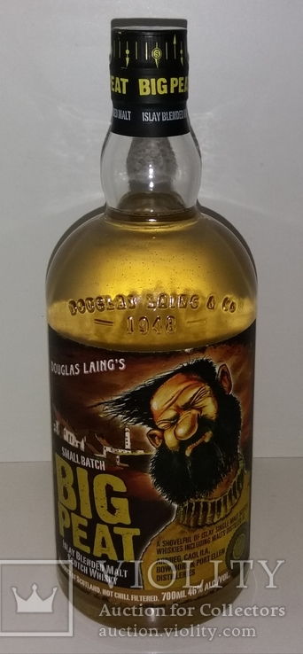 Виски Douglas Laings Big Peat Small Batch Islay Blended Malt Scotch Whisky