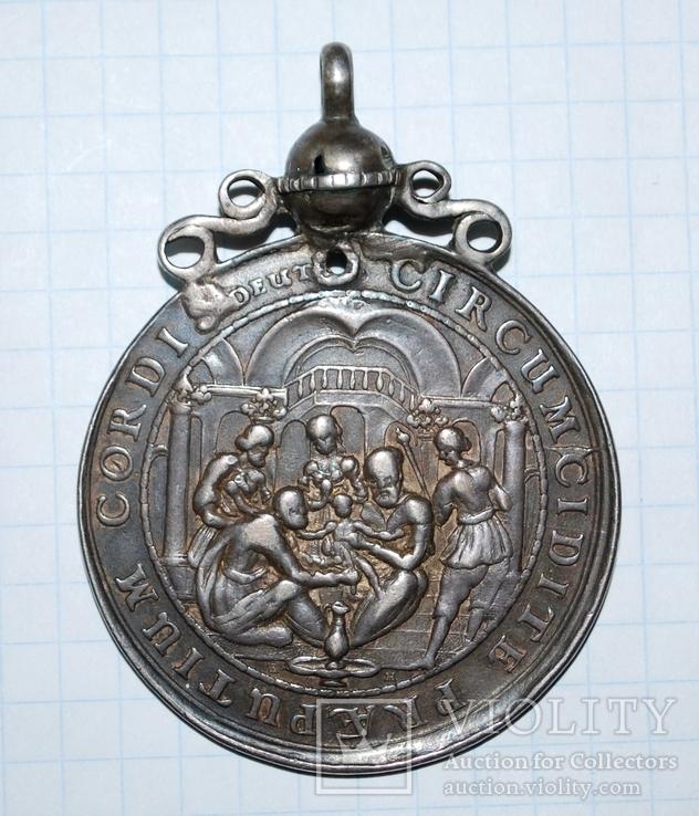 Дукач - крестильный талер. Медальер Иоганн Хен Ст. Гданьск.
