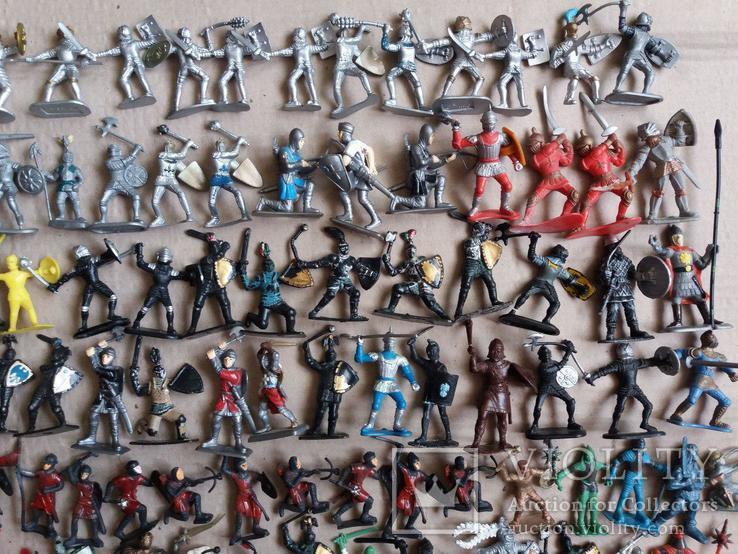 Пластмассовые фигурки рыцарей, фото №5
