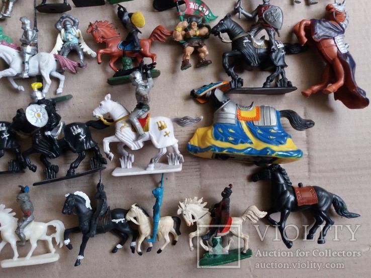 Пластмассовые фигурки рыцарей, фото №12
