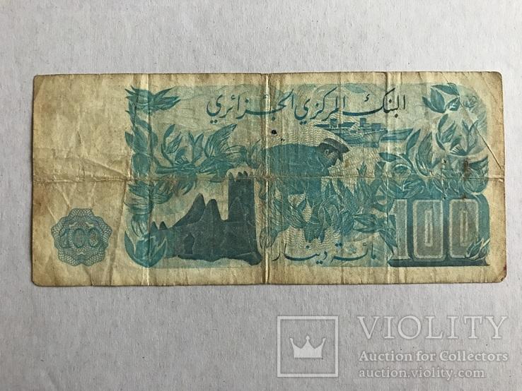 100 дінар Алжир 1981, фото №3