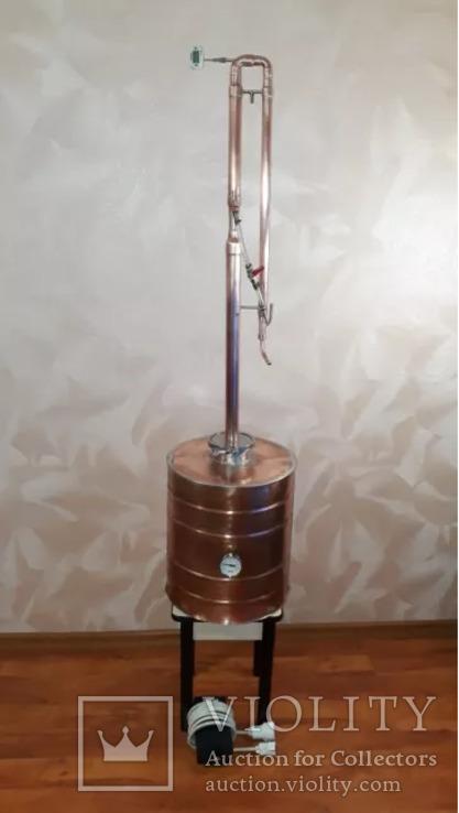 Дистиллятор медный, фото №3