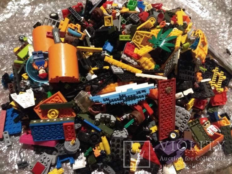 Лего Lego 2,1 кг одним лотом