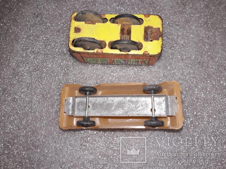 Вагончик заводной и машинка на востановление, фото №7