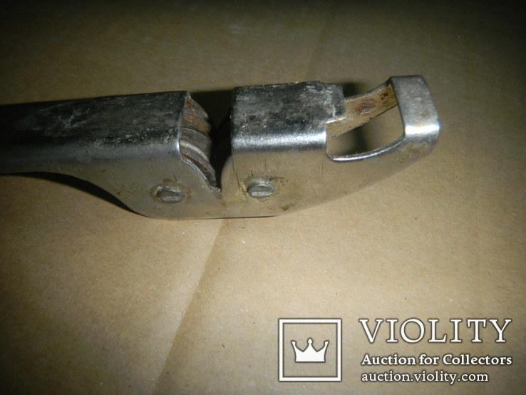 Открывалка СССР с точилкой для нож, фото №6