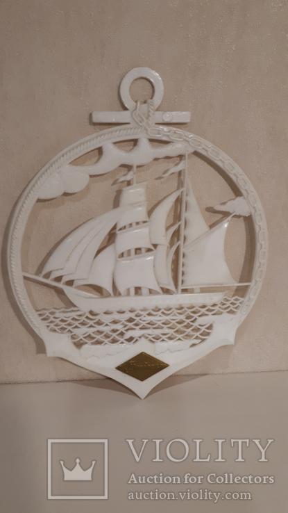 Сувенир на стену Парусник., фото №8