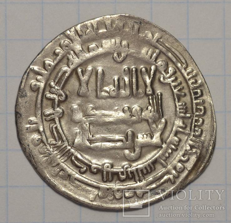 Саманидский дирхем.Шаш,290 г.х.Исмаил бин Ахмад.
