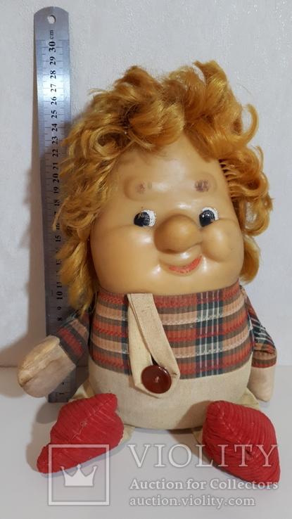 Старая игрушка Карлсон., фото №9