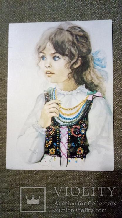 Открытка 1975 г. Польша 2 шт, фото №5