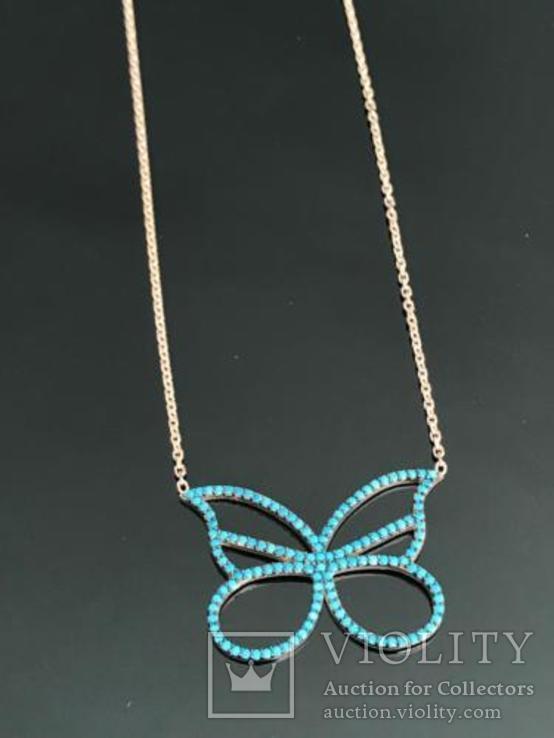 Ожерелье с турецкой бирюзой