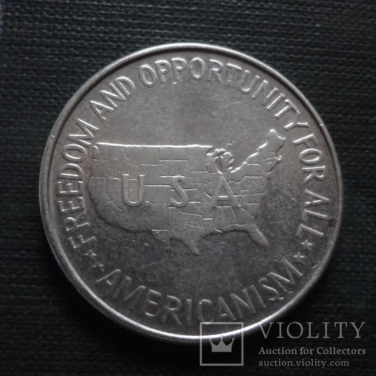50 центов 1952 США серебро   (А.3.3) ~