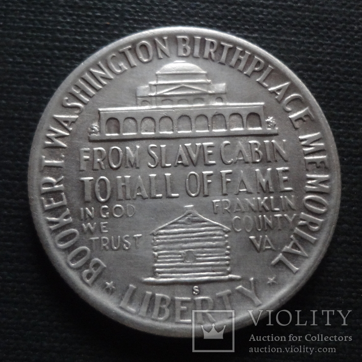 1/2 доллара 50 центов  1946  США серебро   (А.2.9) ~