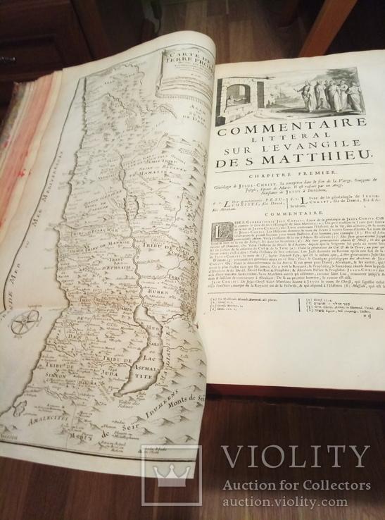 1726 Комментарии к Новому и Старому Завету. Огромный формат. Иудеи. Християнство.