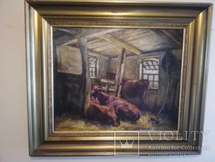 Картина на сільську тематику, Simonsen, Данія
