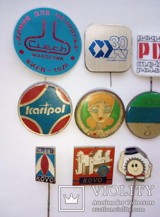 Выставки в Киеве ГДР, ВНР, ПНР, США - 16 шт., фото №4